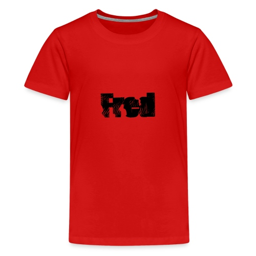 Fred logo - Teenager premium T-shirt