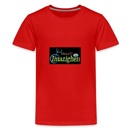 Imazighen ithran rif - Teenager Premium T-shirt