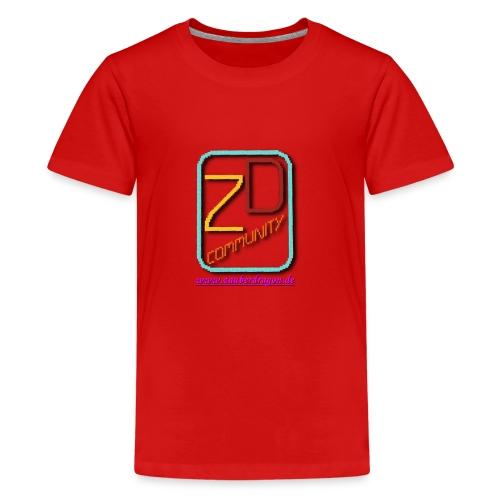 ZauberDragon LOGO 2 - Teenager Premium T-Shirt