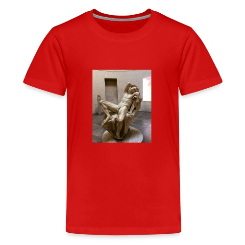 Thinking - Teenager Premium T-Shirt