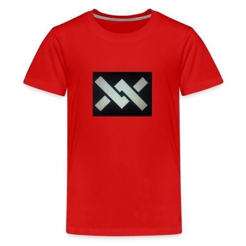 Original Movement Mens black t-shirt - Teenage Premium T-Shirt