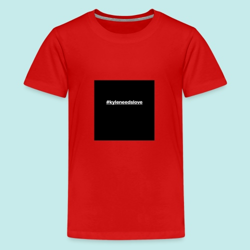 the iconic trademark for our campaign - Teenage Premium T-Shirt