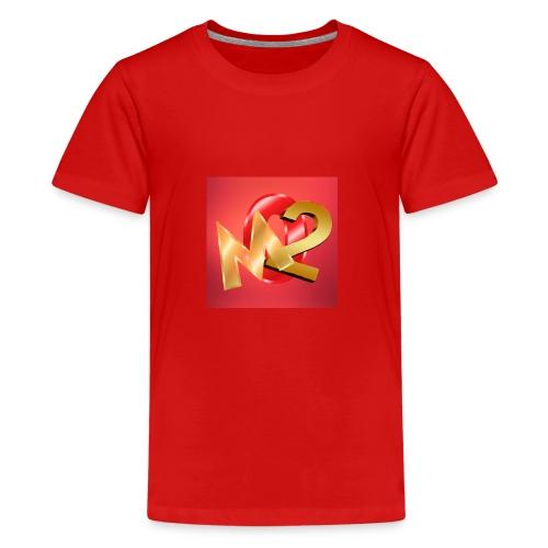 02M - Premium-T-shirt tonåring
