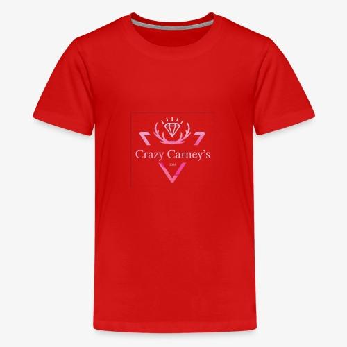 Crazy Carney's crown - Teenage Premium T-Shirt