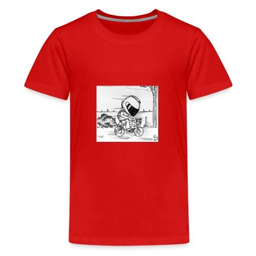 biker - T-shirt Premium Ado