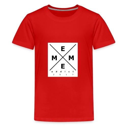 Meme-logo - Teenager Premium T-Shirt