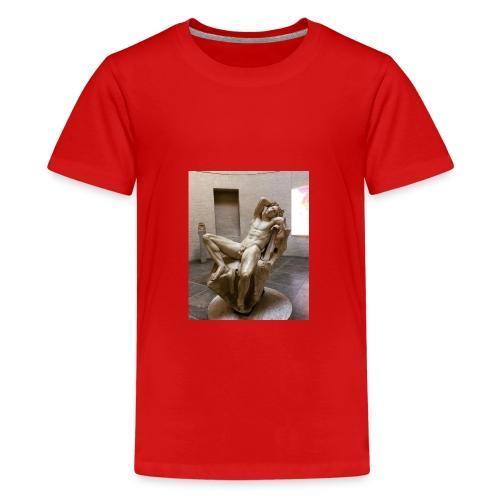 Thinking - Teenager Premium T-Shirt
