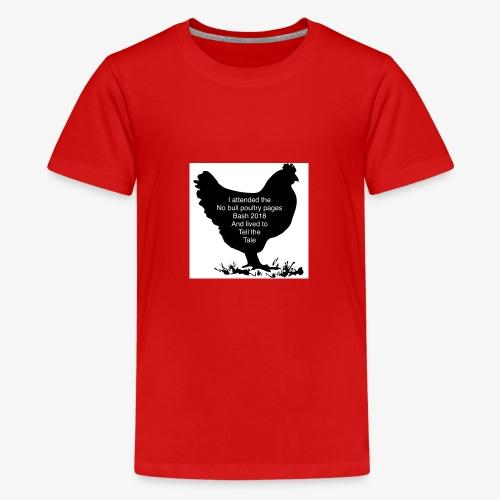 2DE2ADD8 8397 41E2 B462 85931C4D203C - Teenage Premium T-Shirt