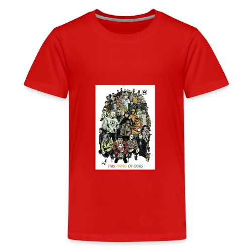 35e67845c9b6034146f6e4cacc68e097 casual co casual - Teenage Premium T-Shirt