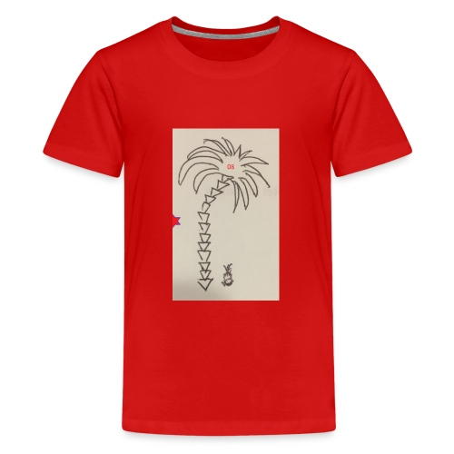08 Pineapple - Teenager Premium T-Shirt