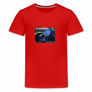 BLAU - Teenager Premium T-Shirt