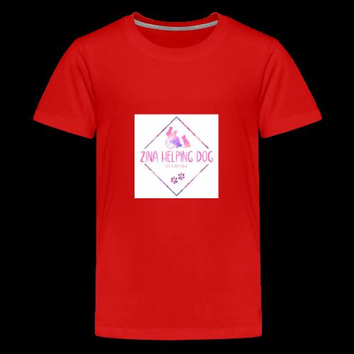 shopping tas - Teenager Premium T-shirt
