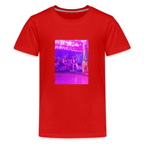 Fête foraine manège magie plein de couleurs rose . - T-shirt Premium Ado