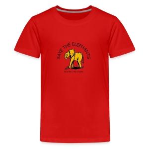 Babyelefant - Save The Elephants - Teenager Premium T-Shirt