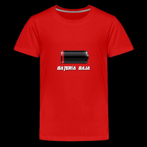 Batería Baja - Camiseta premium adolescente