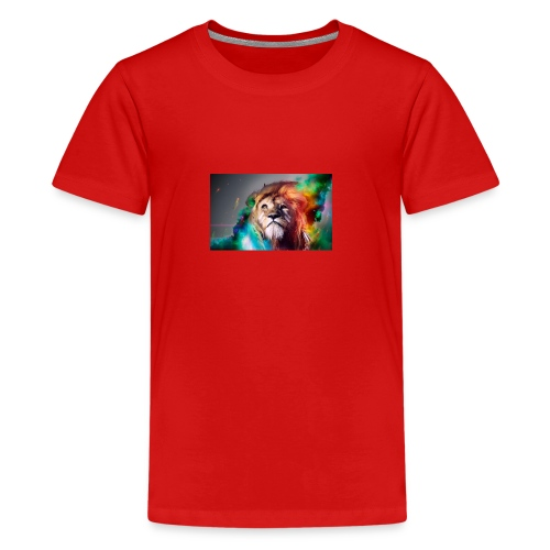 hero lion - T-shirt Premium Ado