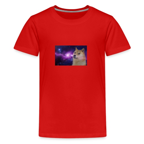 doge is god - Teenager premium T-shirt