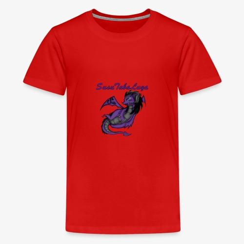 Drachengang Mit Namen - Teenager Premium T-Shirt