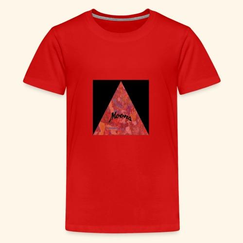 Moons rojo tri - Camiseta premium adolescente