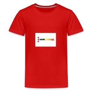 Hanksterdam! Echt wel! - Teenager Premium T-shirt