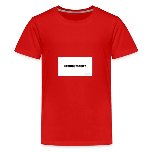 New TWOBOYSARMY - Teenager Premium T-Shirt