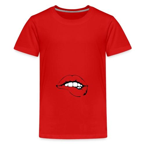 Kussmund - Teenager Premium T-Shirt