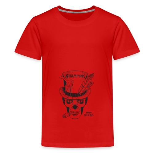 Steampunk Voodoo Spiced Rum - Teenage Premium T-Shirt