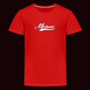 mechant_logo_white - T-shirt Premium Ado