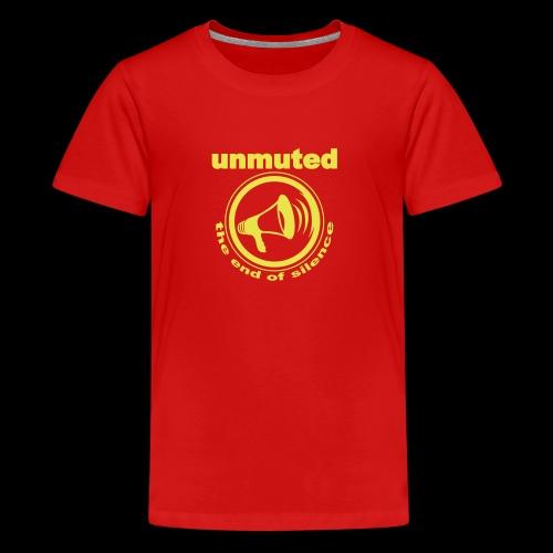 unmuted - Teenager Premium T-Shirt