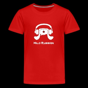 Wild Russian - Teenager Premium T-Shirt