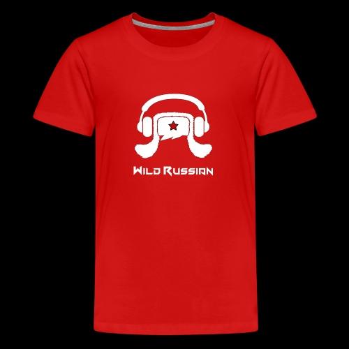 Wild Russian - Teenager Premium T-Shirt