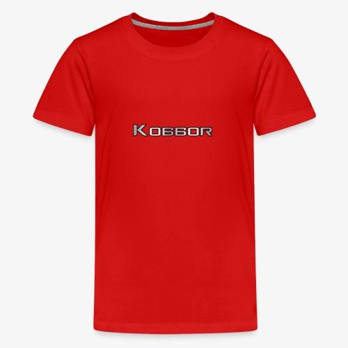 Kobbor In Grey - Teenage Premium T-Shirt