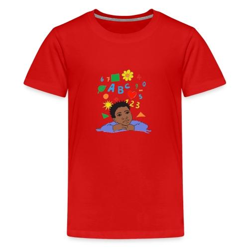 schoolkid 001 - Teenager Premium T-Shirt