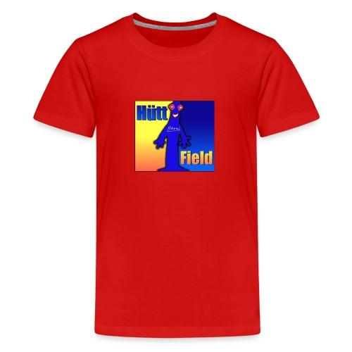Hüttfield-Logo - Teenager Premium T-Shirt
