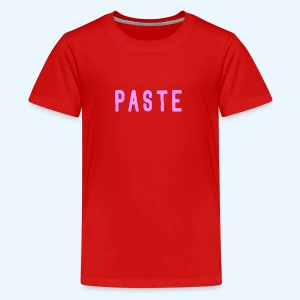 Paste (Meisje) - Teenager Premium T-shirt