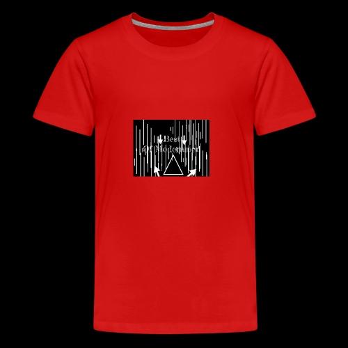 Bestofmodernmen - Maglietta Premium per ragazzi