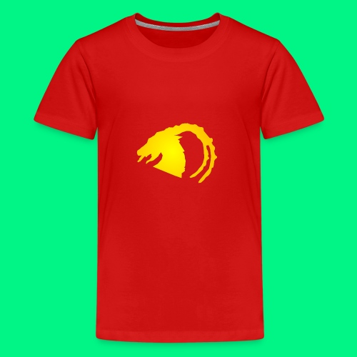 Logo - Premium-T-shirt tonåring