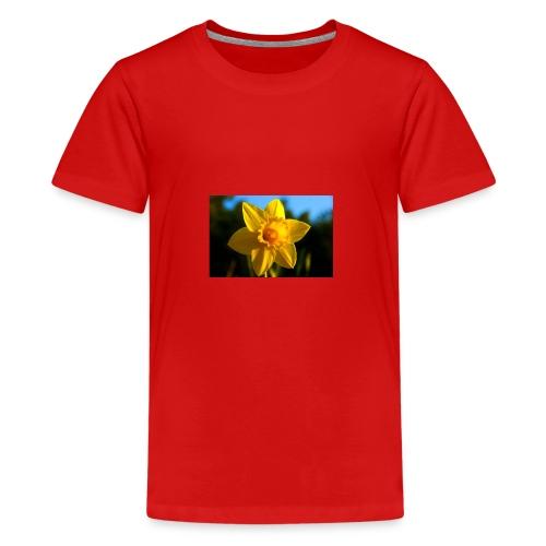 daffodil - Teenage Premium T-Shirt