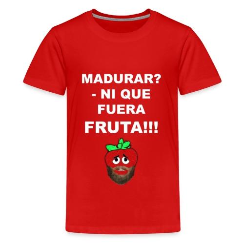 FRUTA - Camiseta premium adolescente
