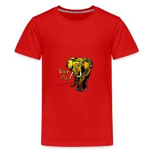 Visit Me - Teenager Premium T-Shirt