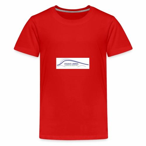ESSAIS LIBRES - T-shirt Premium Ado