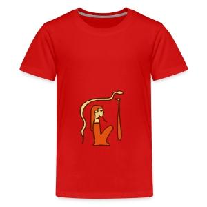 Hieroglyphen Dsched Medu - Teenager Premium T-Shirt