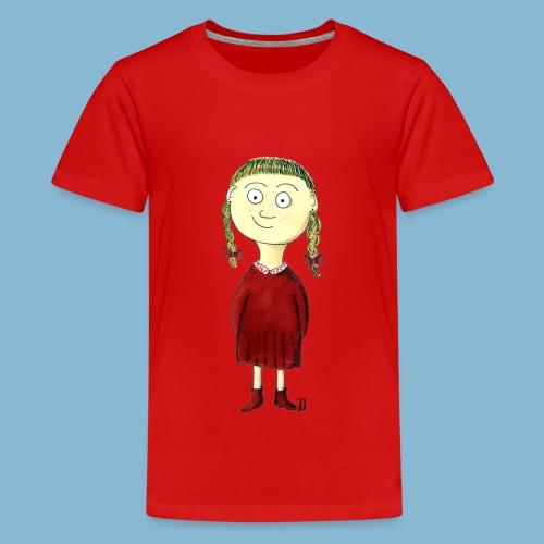 Martha mit den Zöpfen - Teenager Premium T-Shirt