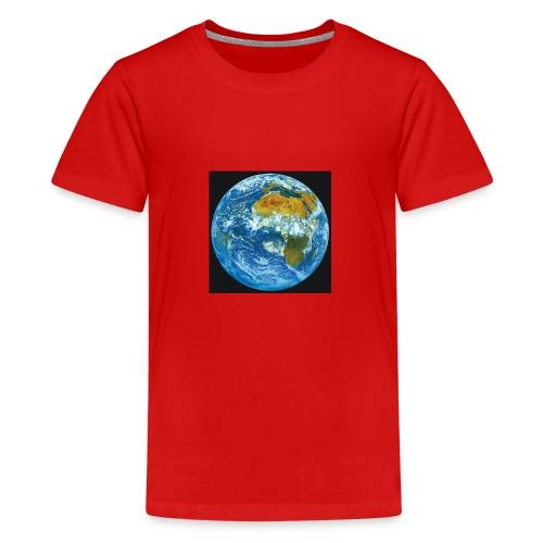Welt - Teenager Premium T-Shirt