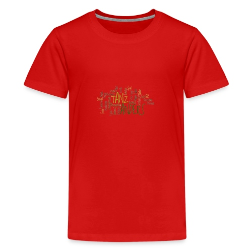 1a ta wordle gruen transparent - Teenager Premium T-Shirt