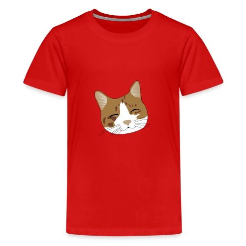 Süßes Schnurr Miau Kätzchen Katze - Teenager Premium T-Shirt