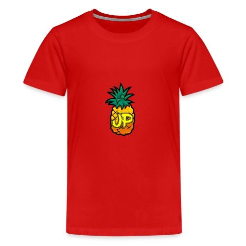 Just Pine Logo Yellow - Teenage Premium T-Shirt