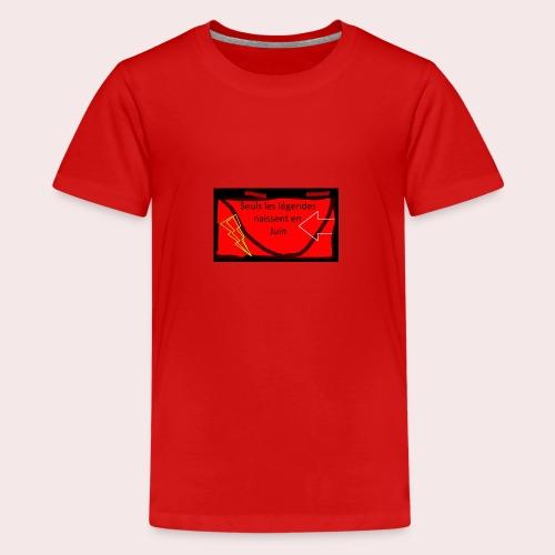 Légendes - T-shirt Premium Ado