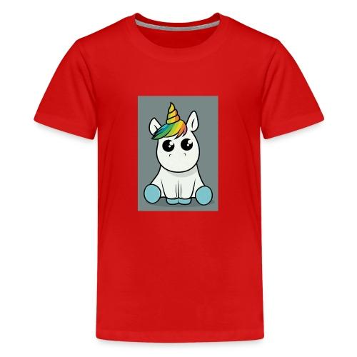 baby unicorn boy - Teenage Premium T-Shirt