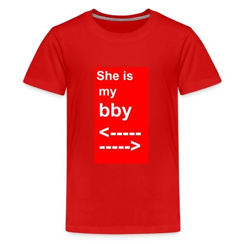 T-Shirt für den Freund - Teenager Premium T-Shirt